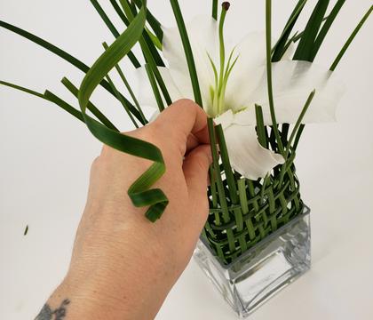 Weave a floral trap
