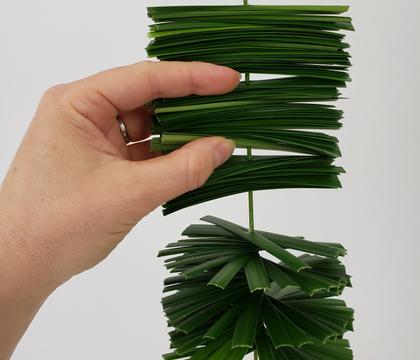 Grass Spiral Wind Spinner