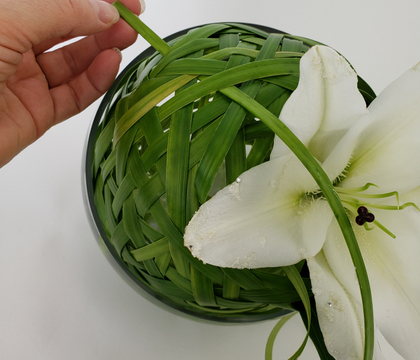 Long lasting Lily and lily grass ball