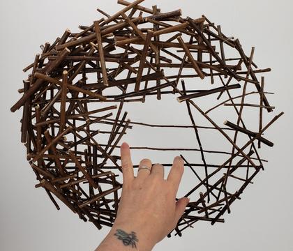 Cross hatch Twig Armature