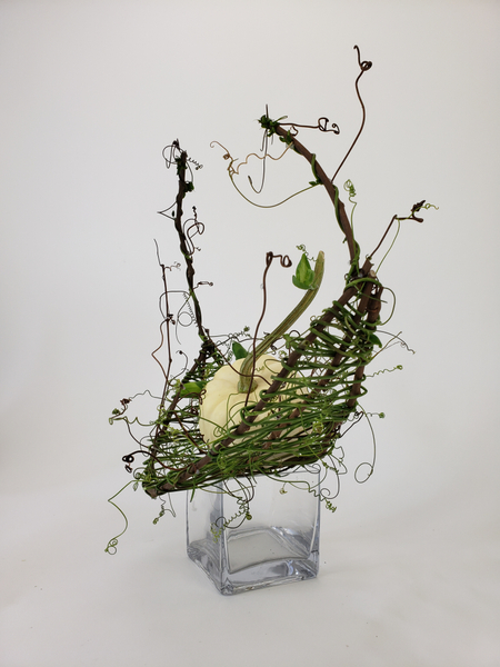 Flower arranging inspiration for autumn designs