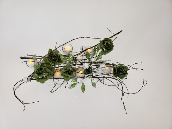 A healing winter craft that can be used in flower arranging
