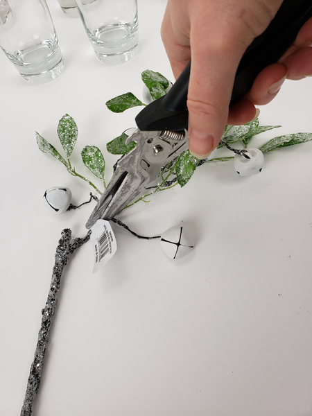 Remember to snip away any price tags or signs that it is artificial plant material
