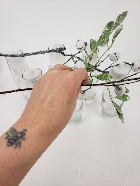 Start adding real twigs to the design