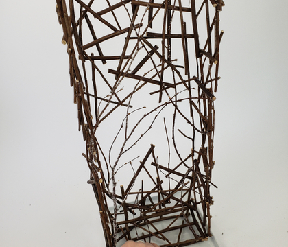 Twig snippet pillar armature