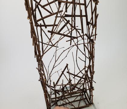 Twig snippet pillar armature
