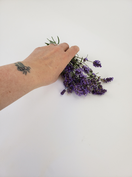 Pick a bunch of lavender
