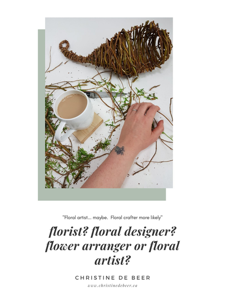 Page 4 profile of the effortless floral craftsman by Christine de Beer