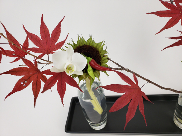 Floral styling for interior spaces in Fall