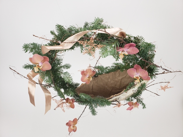 How to make an easy and sustainable Christmas wreath