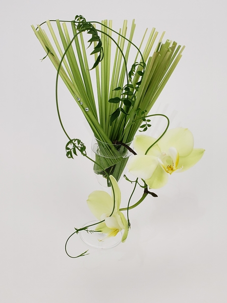 Sustainable zero waste floral design solutions