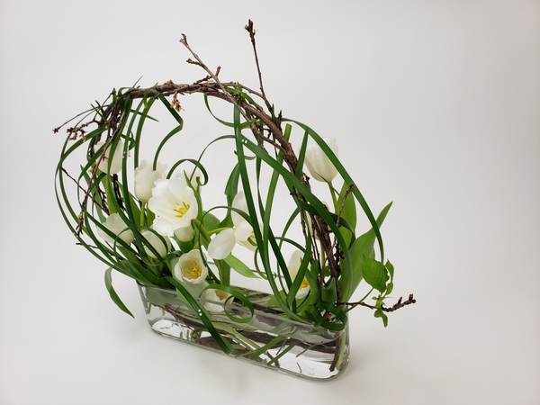 Sustainable flower arranging ideas for floral designers