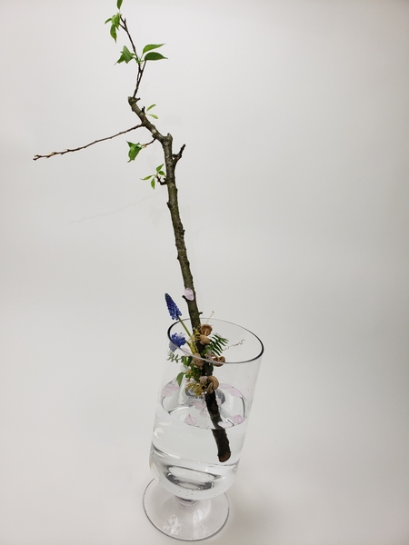 Designing with branches for floral arrangements